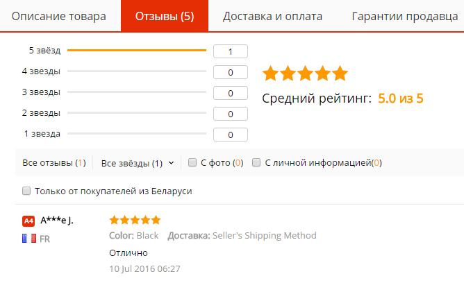 Отзывы мобильные запчасти на AliExpress