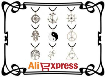 Ожерелья и подвески на AliExpress