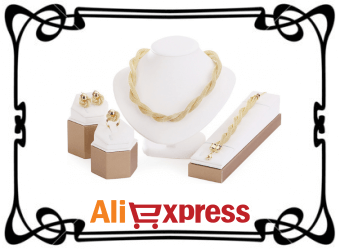Ювелирные комплекты на AliExpress