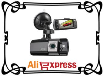 Автомобильный видеорегистратор с AliExpress