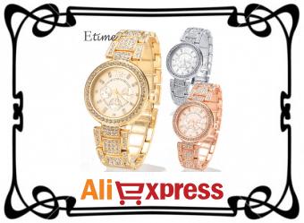 Женские наручные часы с Aliexpress