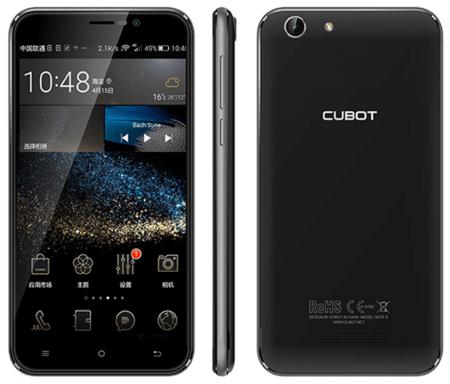 Мобильный телефон Cubot Note S на картинке