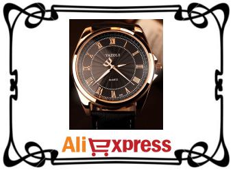 Обзор мужских наручных часов с AliExpress