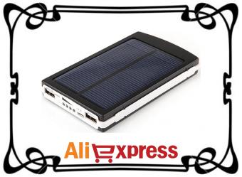 Портативное зарядное устройство 12000 мАч с AliExpress