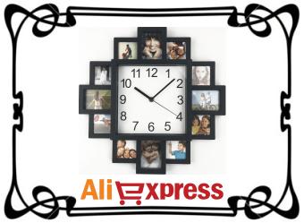 Современные настенные часы с AliExpress
