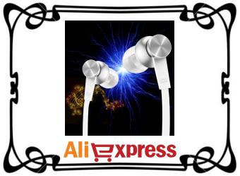 Стерео наушники Xiaomi с AliExpress