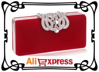 Стильный женский клатч с Aliexpress