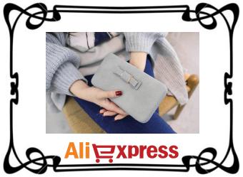 Стильный женский кошелёк с AliExpress