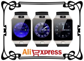 Умные наручные часы Smart Watch dz09 с AliExpress