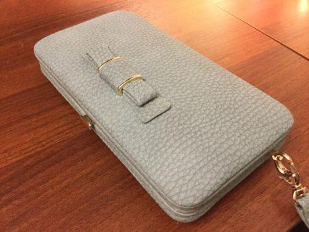 Стильный женский кошелёк с AliExpress на фото