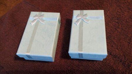 Женский ювелирный набор с AliExpress коробочки