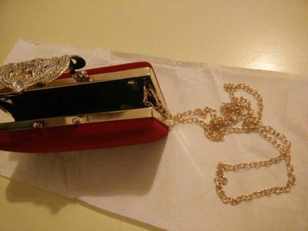 Стильный женский клатч с Aliexpress цепочка