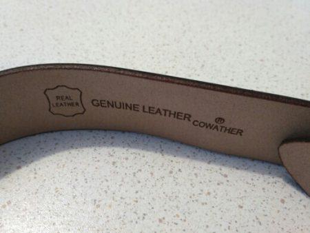 Стильный мужской кожаный ремень с AliExpress фирма
