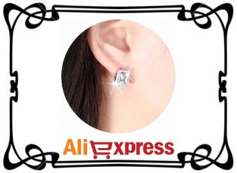 Обзор элегантных женских серёжек с AliExpress