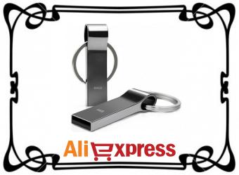 USB флеш-накопитель Techkey (4-64 ГБ) с AliExpress
