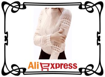 Женская блузка с длинным рукавом с AliExpress