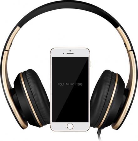 Наушники с микрофоном Sound Intone I65 с AliExpress на картинке