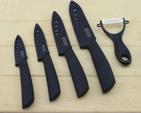 Набор кухонных ножей и овощерезка с AliExpress на картинке