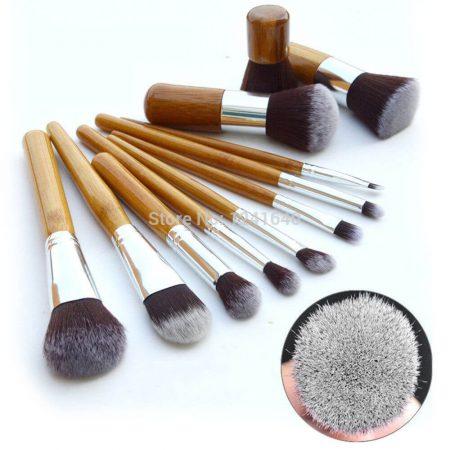 Набор кистей для макияжа с AliExpress на картинке