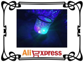 Мигающий ночник «Звёздное небо» с AliExpress