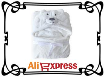 Мягкое полотенце для младенцев с Aliexpress