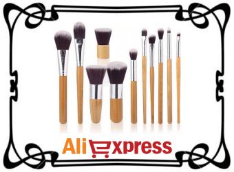 Набор кистей для макияжа с AliExpress