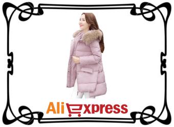 Стильный женский пуховик с AliExpress