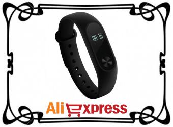 Фитнес-браслет Xiaomi Mi Band 2 с AliExpress
