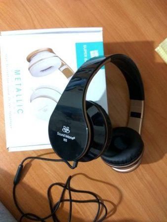Наушники с микрофоном Sound Intone I65 с AliExpress коробка