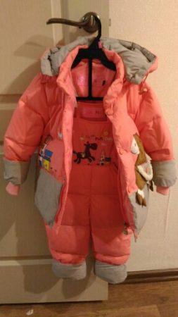 Детский зимний комплект одежды с AliExpress вид