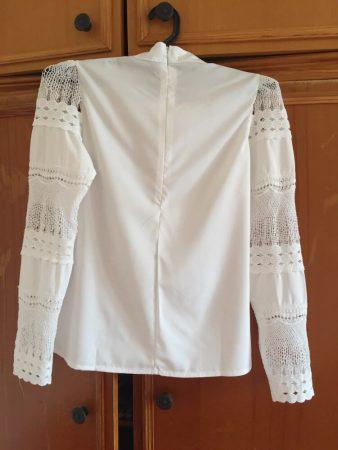 Женская блузка с длинным рукавом с AliExpress спина