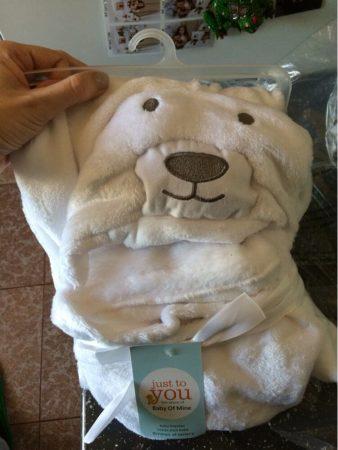 Мягкое полотенце для младенцев с Aliexpress на фото