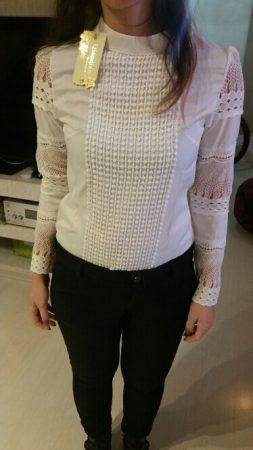 Женская блузка с длинным рукавом с AliExpress на мне