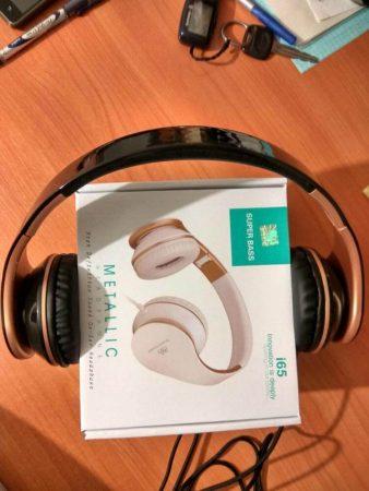 Наушники с микрофоном Sound Intone I65 с AliExpress как выглядят