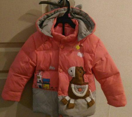 Детский зимний комплект одежды с AliExpress курточка
