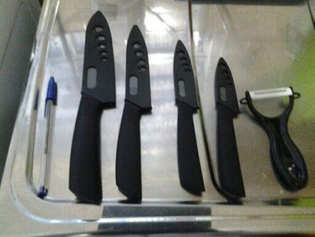 Набор кухонных ножей и овощерезка с AliExpress размер