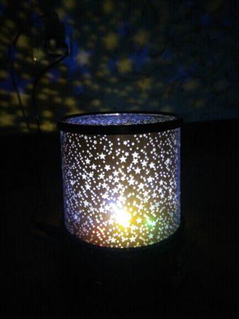 Мигающий ночник «Звёздное небо» с AliExpress красота