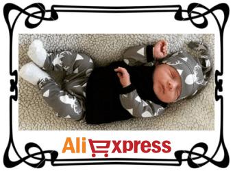 Детский комплект одежды с AliExpress