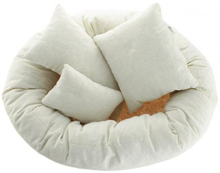 Мягкий пончик для фотосессии новорождённых с AliExpress на картинке