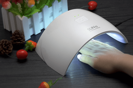 УФ-Лампа для ногтей с AliExpress на картинке