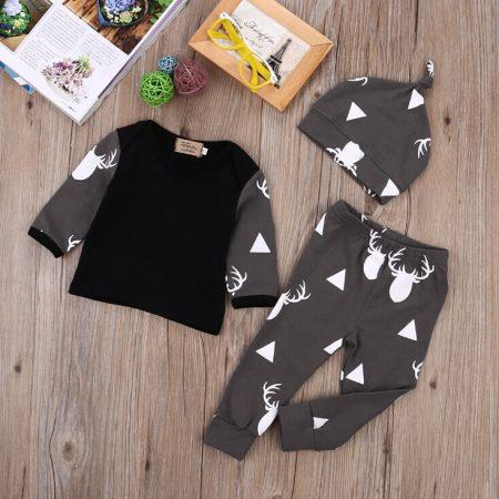 Детский комплект одежды с AliExpress на картинке