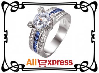 Модное женское кольцо с AliExpress