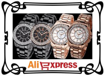 Модные женские часы с AliExpress