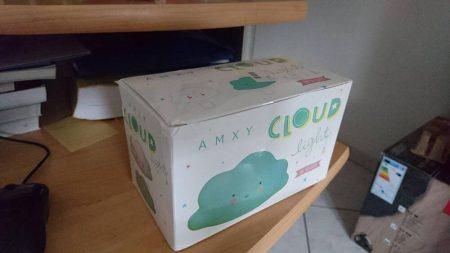 Светодиодный ночник «Облако-улыбка» с AliExpress коробка