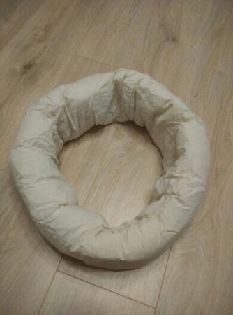 Мягкий пончик для фотосессии новорождённых с AliExpress на фото