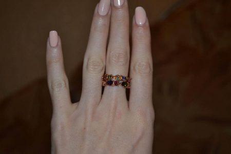 Набор ювелирных украшений с AliExpress кольцо