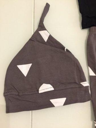 Детский комплект одежды с AliExpress шапочка