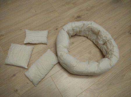 Мягкий пончик для фотосессии новорождённых с AliExpress принадлежности