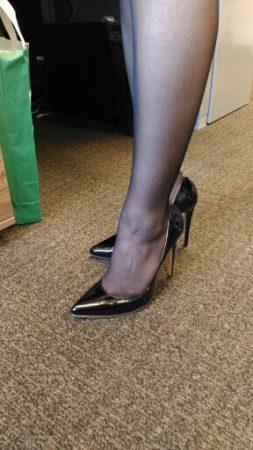 Элегантные женские туфли с AliExpress как выглядят