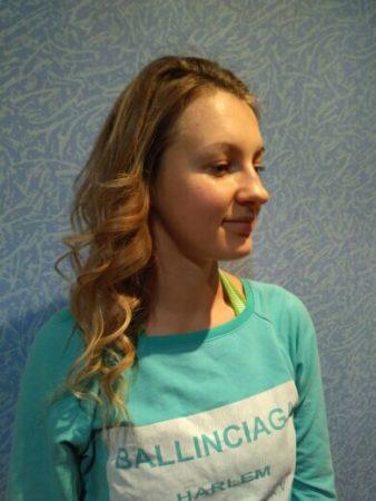 Плойка для волос с AliExpress эффект